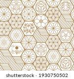 japanese seamless pattern... | Shutterstock .eps vector #1930750502