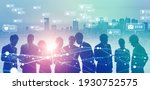social networking service... | Shutterstock . vector #1930752575