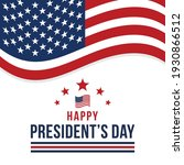 happy presidents day in united... | Shutterstock .eps vector #1930866512