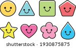 smile shape icon material set... | Shutterstock .eps vector #1930875875