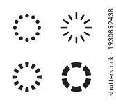 set loading icons. load. load... | Shutterstock .eps vector #1930892438