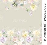 elegant wedding invitation card ...   Shutterstock . vector #1930967732