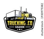 Trucking Company Logo. Bold...