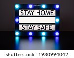 lightbox with green and blue...   Shutterstock . vector #1930994042