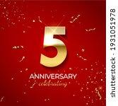 anniversary celebration... | Shutterstock .eps vector #1931051978