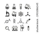 chemistry and science black... | Shutterstock .eps vector #1931086145