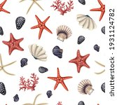 seamless pattern with red... | Shutterstock .eps vector #1931124782