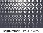 triangular halftone texture... | Shutterstock .eps vector #1931149892