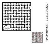 maze game for kids and adults....   Shutterstock .eps vector #1931189222