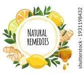 Natural Remedies Frame Banner....