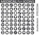 medical icons | Shutterstock .eps vector #193122266