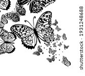 butterfly decorative tattoo.... | Shutterstock .eps vector #1931248688
