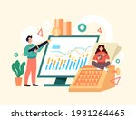 accountant business people... | Shutterstock .eps vector #1931264465