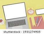 3d rendering mockup of business ... | Shutterstock . vector #1931274905