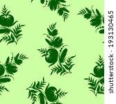seamless floral pattern | Shutterstock .eps vector #193130465