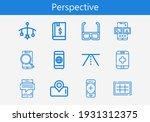 premium set of perspective line ...   Shutterstock .eps vector #1931312375
