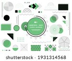 abstract green and black... | Shutterstock .eps vector #1931314568