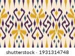 ethnic abstract ikat art.... | Shutterstock .eps vector #1931314748
