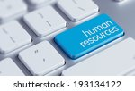 high resolution human resources ... | Shutterstock . vector #193134122