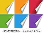 bright corners big set isolated ... | Shutterstock .eps vector #1931341712