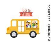 school design over white... | Shutterstock .eps vector #193135502