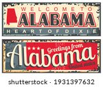 greetings from alabama usa...   Shutterstock .eps vector #1931397632