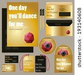 corporate design. business card ... | Shutterstock .eps vector #193140608
