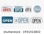 welcome information notice... | Shutterstock .eps vector #1931413832