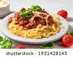 Pasta Spaghetti Bolognese With...