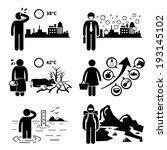 global warming greenhouse... | Shutterstock .eps vector #193145102