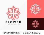 flower boutique  logo vector... | Shutterstock .eps vector #1931453672