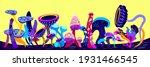 fantasy cartoon alien universe...   Shutterstock .eps vector #1931466545