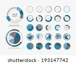 infographic elements pie chart... | Shutterstock .eps vector #193147742