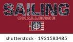 sailing challenge match race...   Shutterstock .eps vector #1931583485