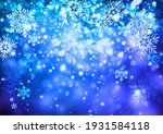 winter background with falling... | Shutterstock . vector #1931584118