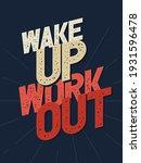 inspiring workout and fitness... | Shutterstock .eps vector #1931596478
