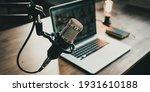 Home Studio Podcast Interior....