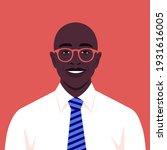 an african man s face. an... | Shutterstock .eps vector #1931616005