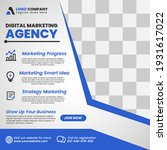 digital business marketing... | Shutterstock .eps vector #1931617022
