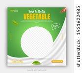 healthy food vegetable social... | Shutterstock .eps vector #1931622485