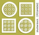 templates for laser cutting ... | Shutterstock .eps vector #1931646062