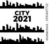 outline urban cityscape.... | Shutterstock . vector #1931647712