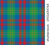 seamless pattern of scottish... | Shutterstock .eps vector #1931654765