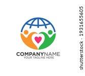 success logo. healthy children... | Shutterstock .eps vector #1931655605