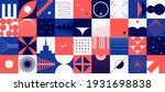 brutalism shapes. abstract... | Shutterstock .eps vector #1931698838