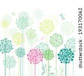 dandelion's meadow   Shutterstock .eps vector #193170062