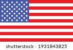 flag united states of america | Shutterstock .eps vector #1931843825
