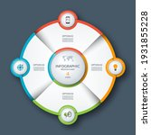 infographic circle  process... | Shutterstock .eps vector #1931855228