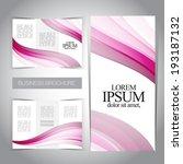 tri fold modern brochure...   Shutterstock .eps vector #193187132