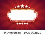 light frame shining retro... | Shutterstock .eps vector #1931903822